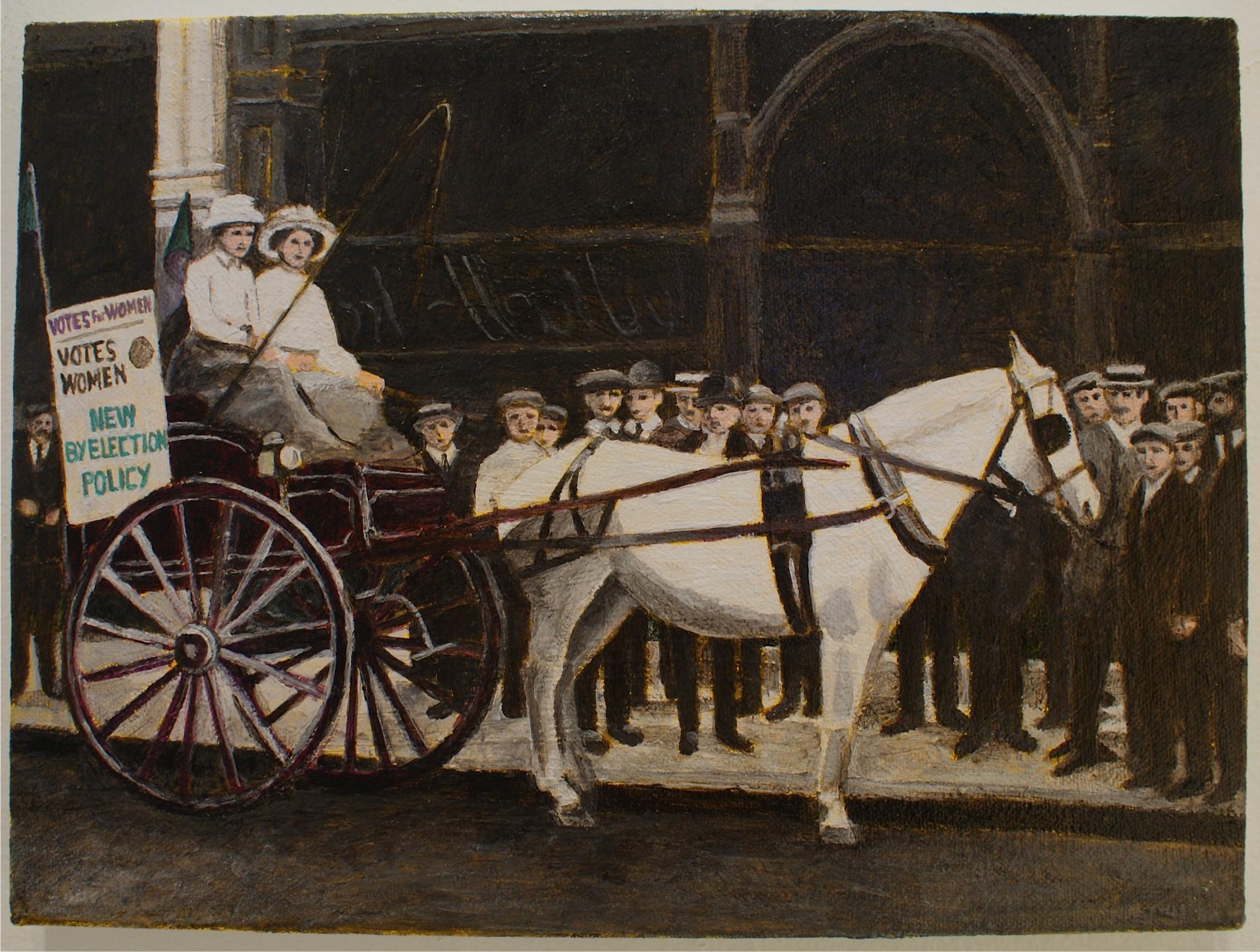 Women's Press Cart, 1911